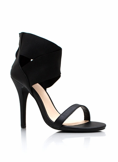 Crossing Paths Single-Sole Heels