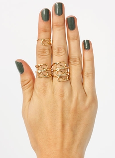 Curve Appeal Ring Trio
