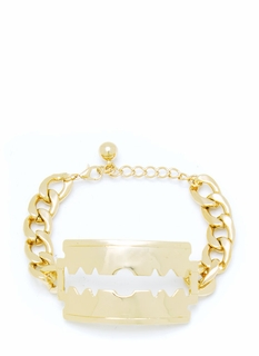 Cut It Out Blade Bracelet