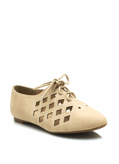 Cut-Out Jazz Flats