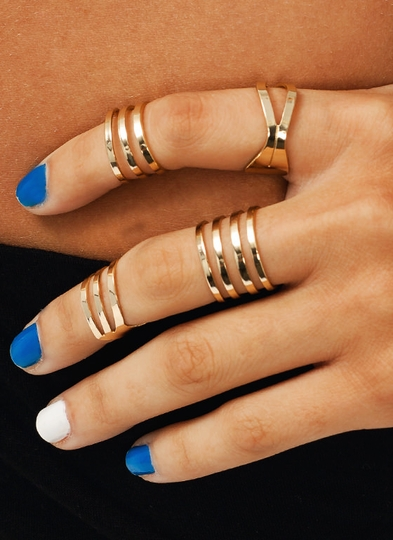 Cut-Out Ring Set