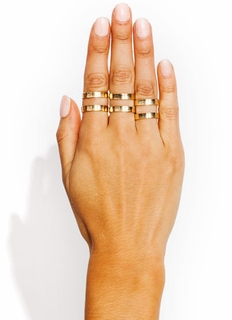 Cut-Out Ring Trio