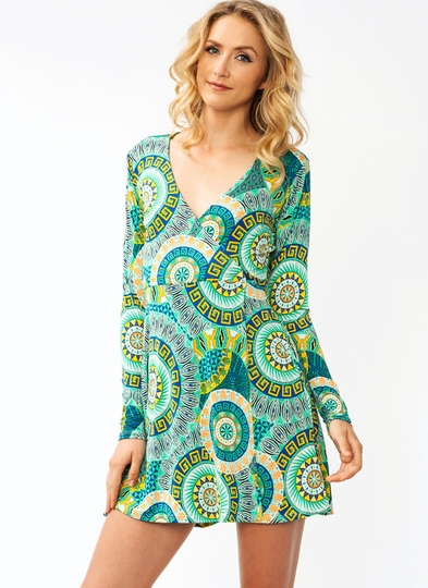 Cuzco Wrap Dress