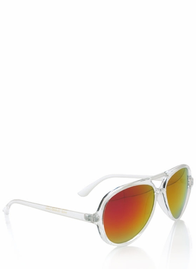 De Colores Aviator Sunglasses