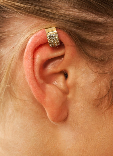 Diamonds Are Forever Ear Cuff