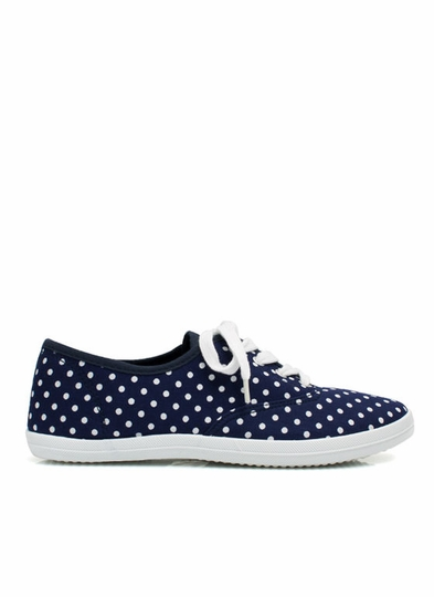 Do The Polka Canvas Sneakers