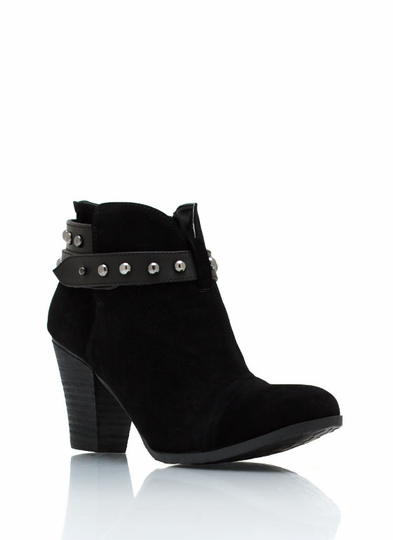Dome Studded Pistol Booties