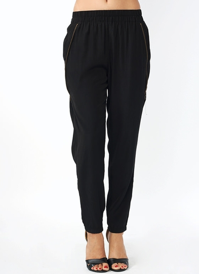 Double Zipper Lounge Pants