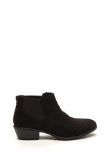 Down The Stretch Faux Suede Booties