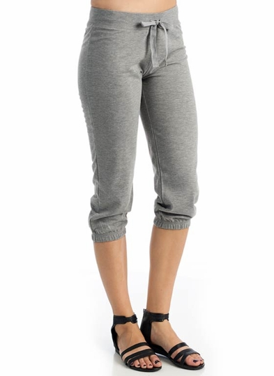 Drawstring Capri Sweatpants