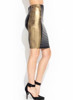 Duo Tone Pencil Skirt