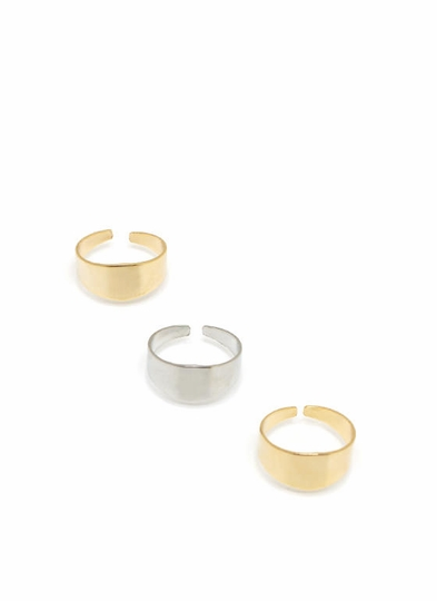 Easy As 1-2-3 Ring Set