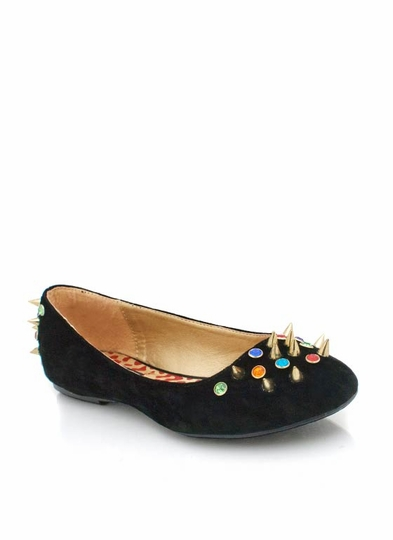 Embellished Studded Flats