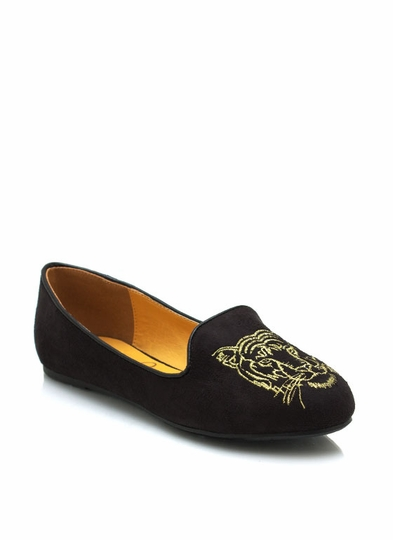 Eye Of The Tiger Smoking Flats