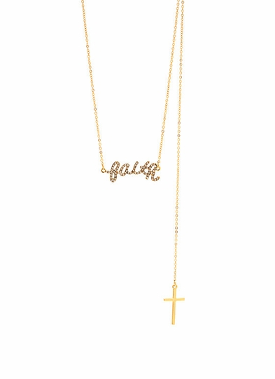 Faithful Backdrop Necklace