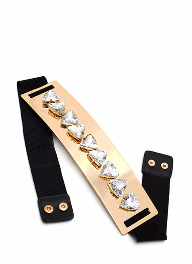 Fancy Pants Plate Belt