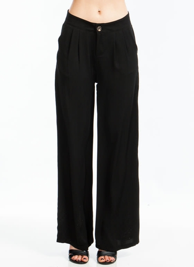 Far And Wide Pleated Trousers