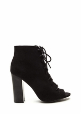 Fashion Authority Lace-Up Booties