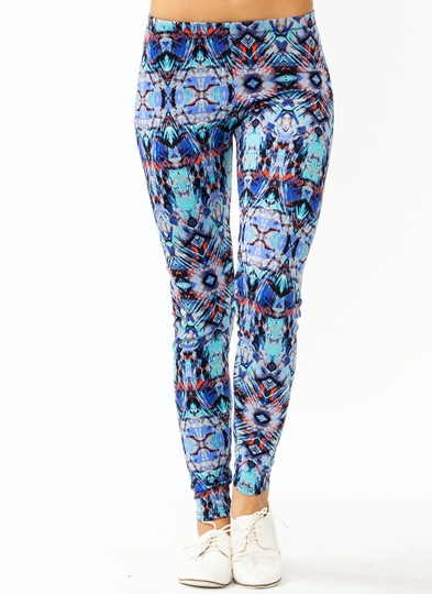 Feathered Tribal Leggings