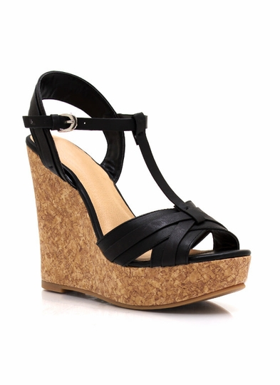 Feeling Corky Crisscross Wedges