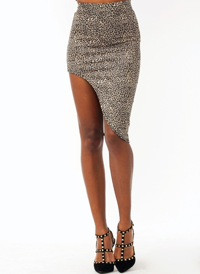 Feline Good Cut-Out Skirt