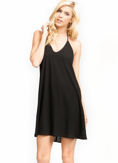 Fit To A T-Back Cami Shift Dress
