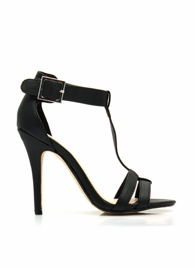 Fit Two A T Ankle Strap Heels