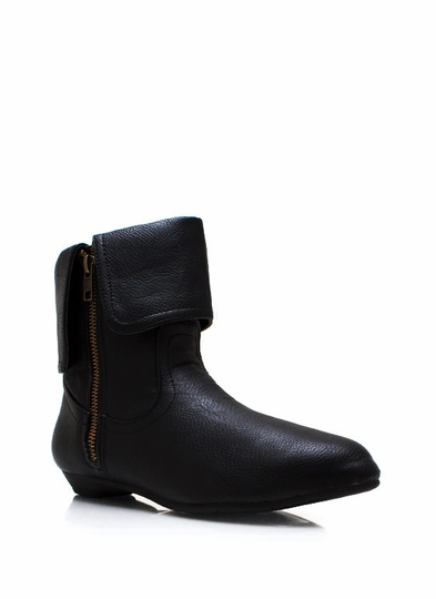 Flap Factory Zippered Boots