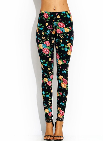 Floral Of The Story Leggings