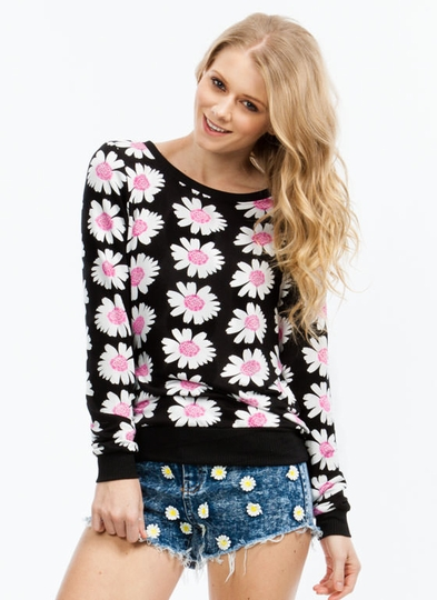 Fresh As A Daisy Sweatshirt