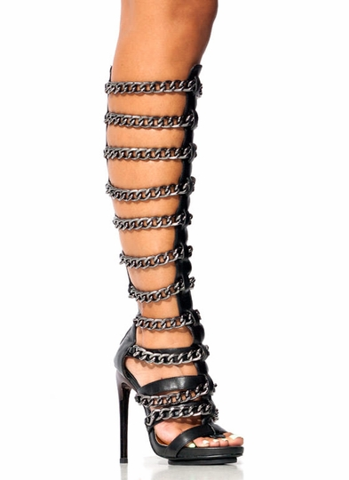 Fresh Chain-ge Gladiator Heels