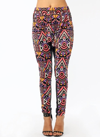 Fresh Prints Harem Pants