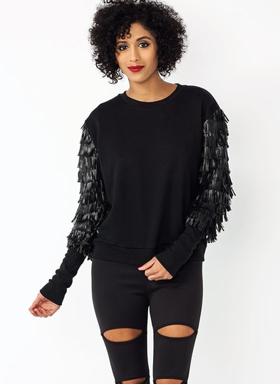 Fringe With Benefits Sweatshirt