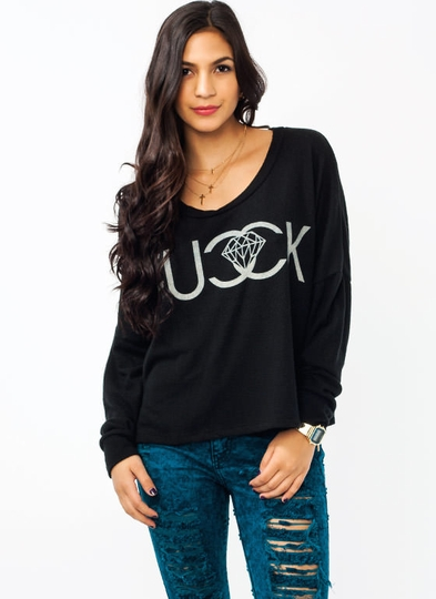 Fucck Jewels Graphic Sweatshirt