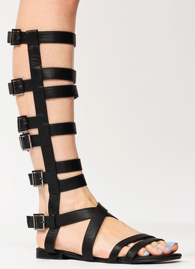Fully Strapped Gladiator Sandals