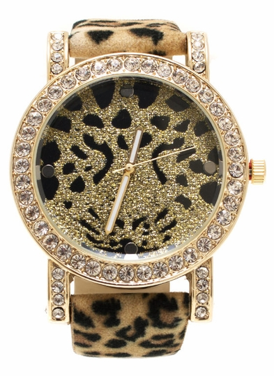 Fuzzy Wuzzy Leopard Watch