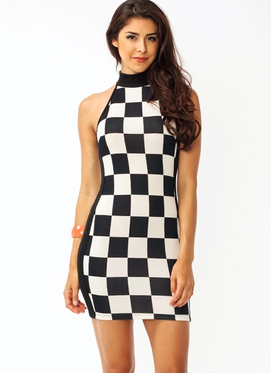 Game Play Bodycon Dress