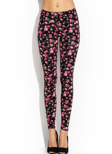 Garden Party Printed Leggings