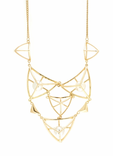 Geometry Quiz Necklace Set