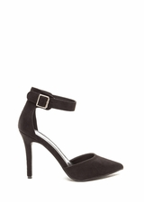 Get To The Point Buckled D'Orsay Heels