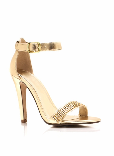 Glamour Girl Metallic Heels