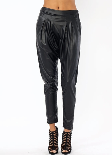 Go Faux Harem Pants