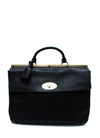 Going Faux Leather Handbag