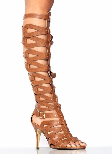 Hang Loops Gladiator Heels