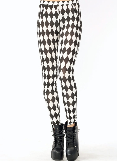 Harlequin Leggings