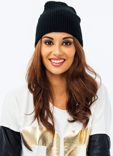 Heads Up Knit Beanie
