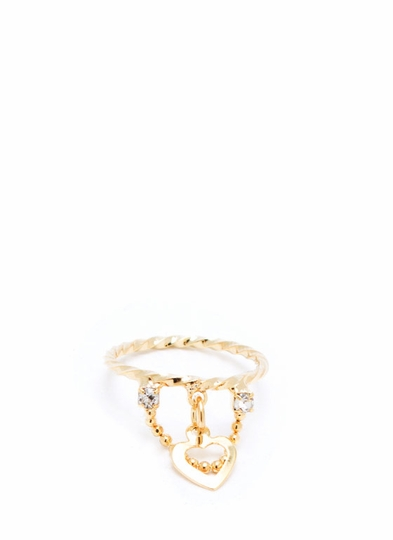Heartache Midi Ring