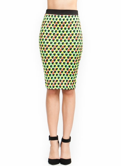 Hex Appeal Pencil Skirt