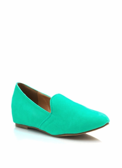 Hidden Wedge Loafers