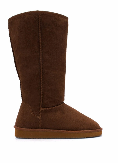 High Time Faux Shearling Boots